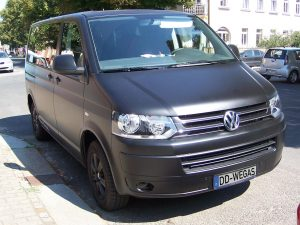 424-Car Wrapping Schwarz Matt
