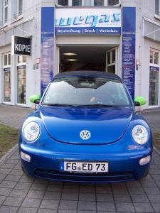 428-4-VW Beatle Car Wrapping