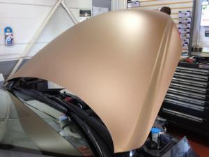 431-Fahrzeug Motorhaubenbeklebung Carwrapping