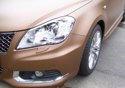 431-Hexis-Serie-Braun-Matt-Metallic Folierung Metallic Braun