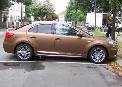 431-Metallic Braun Car Wrapping Autofolie