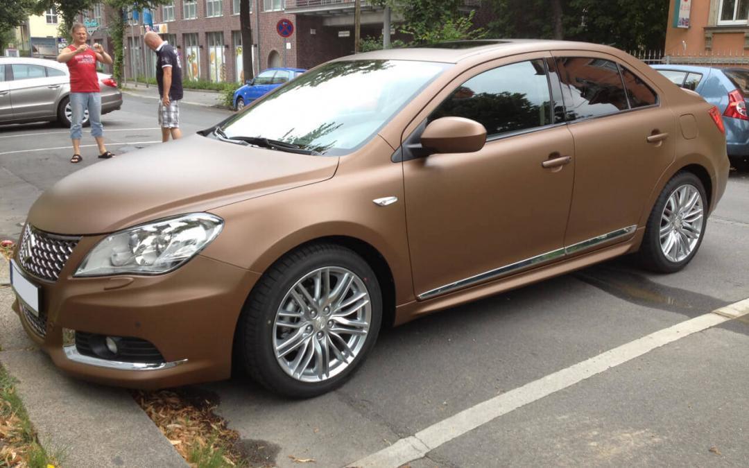 Suzuki Woche: Fahrzeugfolierung