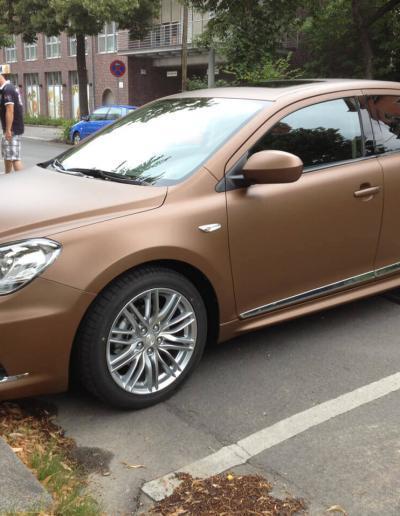 431-Suzuki Folie statt Lack