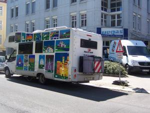433-Wohnmobil Design Kunstbilder