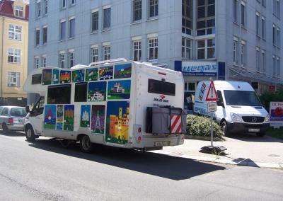 433-Wohnmobil Design Kunstbilder-beschriftung