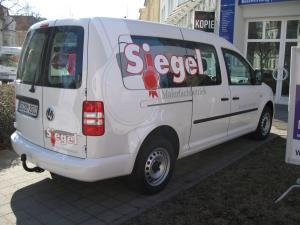 444-Maler Siegel VW Caddy Beschriftung