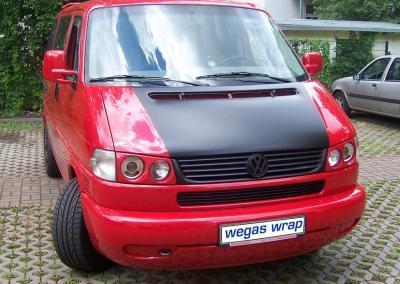 455-VW-T4-Motorhaube-Autofolie Wrapping