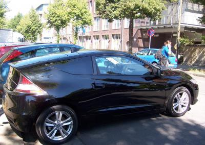 456-Honda CR-Z Hybrid Black