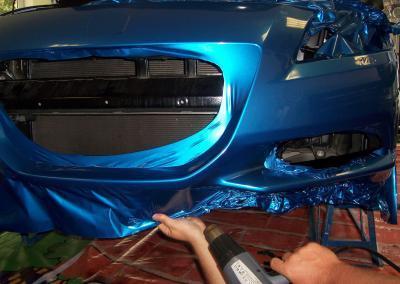 456-Honda Spoiler kleben