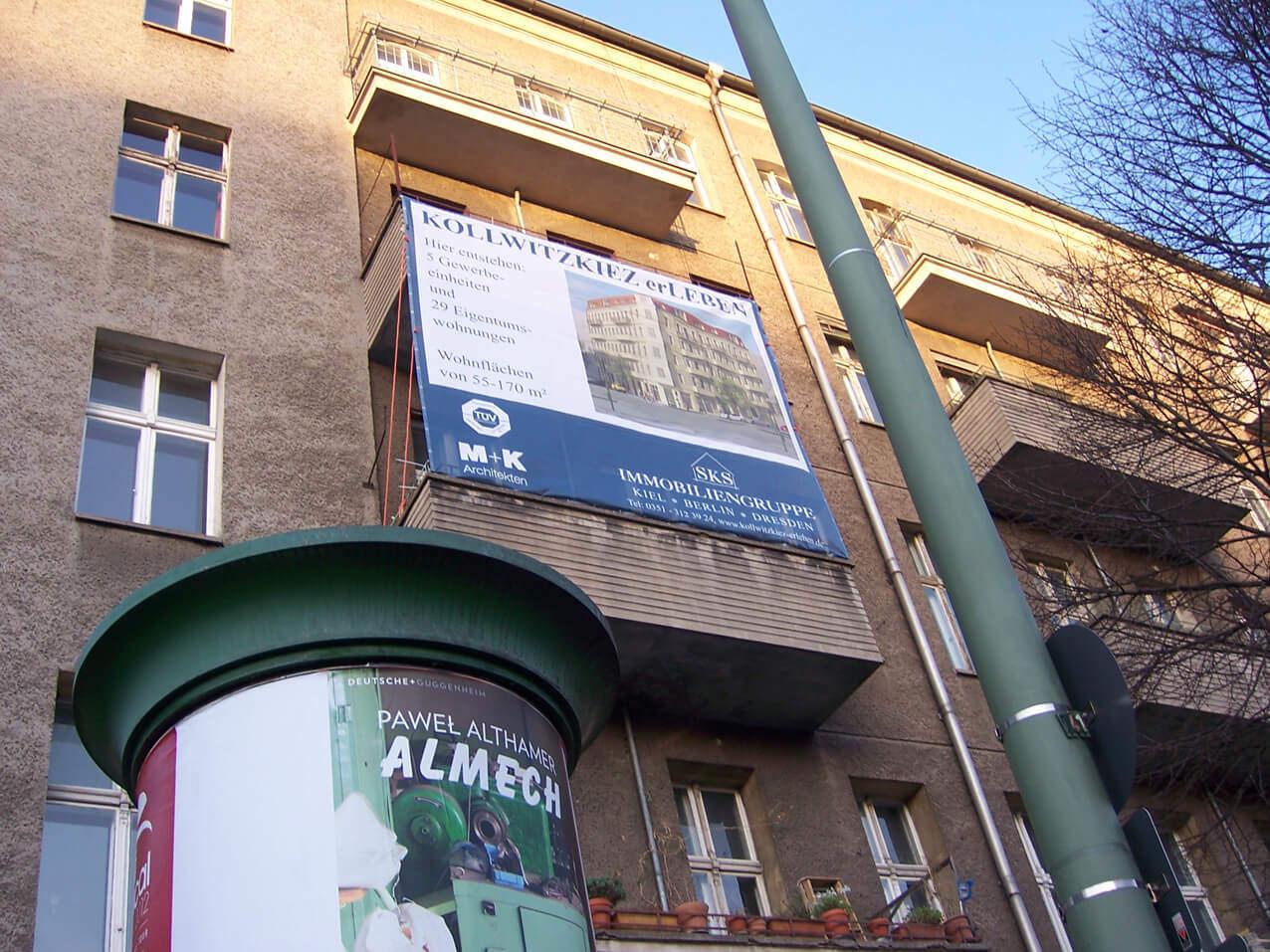461 Balkon Plane Vermietung Verkauf Wegaswerbung Beschriftung