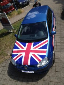 482-Autofolie- England Flagge