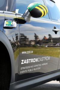 483-Mini-Rover-Spiegel-Autofolie-Sachsenflagge