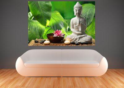 504-Fototapete-Wall-Art-Tapete-Aufkleber-Wandbild-Buddha-drucken