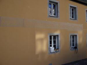 Frankreichladen Dresden Fassadenmalerei