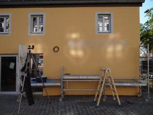 Frankreichladen Dresden Fassadenschablone