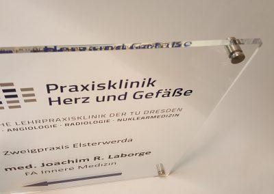 535-Acrylschild-Plexiglas-Wegweiser-Wandschild-Abstandshalter