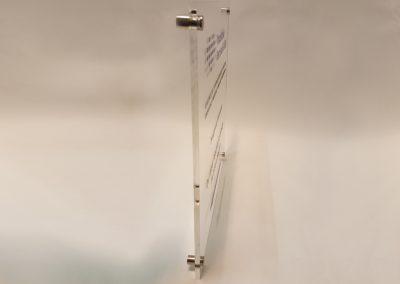 535-Acrylschild-Wandabstandshalter