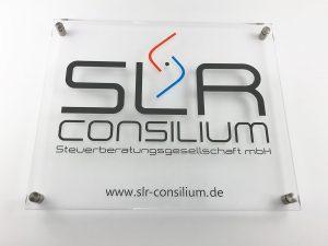 593-SLR-Consilium-Acrylschild-Edelstahlhalterung