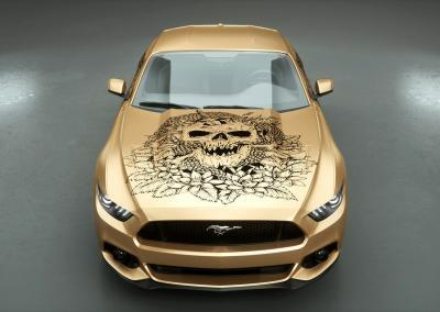 Autodesign-darkness soul gold