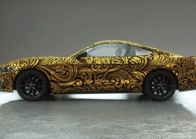 Autodesign-gold ornamental