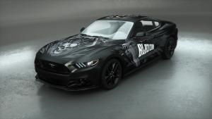 Autofolie Motivdruck-black cobra