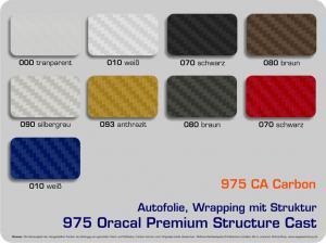 4-D-Autofolie-Carwrapping-975-Oracal-Structure-Cast-Carbon-Farbuebersicht