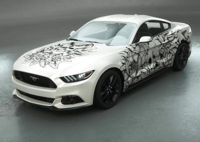 Carwrapping-Autofolie-Eule-Tod-Totenkopf-weiss