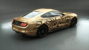Carwrapping-Autofolie-Eule-Tod-gold