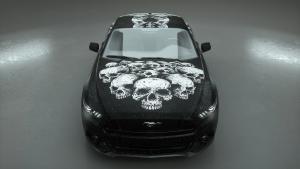 Carwrapping-Autofolie-skullmania