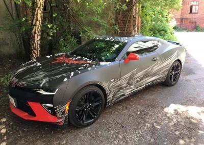 Carwrapping-Batmobile Camaro