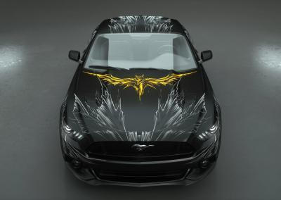Carwrapping-batmobile