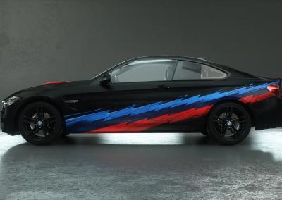 Carwrapping-m-power-schwarz