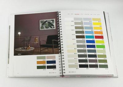Musterbuch-Cover-X-Film-Designfolie-Moebelfolie-Unifarbe-Klebefolie