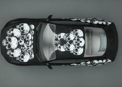 Totenkopf-skullmania-Digitaldruck-Wrap