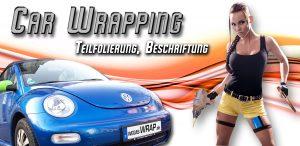 Wegas Wrapping Autofolien Teilfolierung Beschriftung