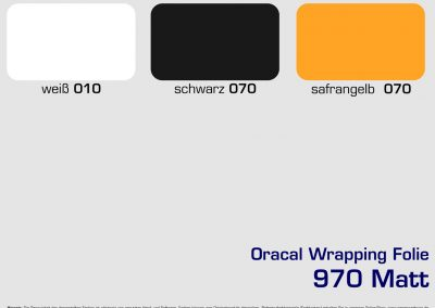 Farbkarten Folie-970-Wrap-Matt