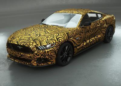 Wrap-Autofolie-Gold-ornamental