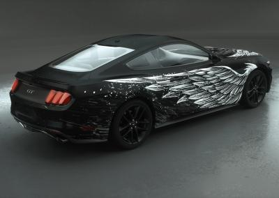 Wrap-Fahrzeugdesign-dark wings white