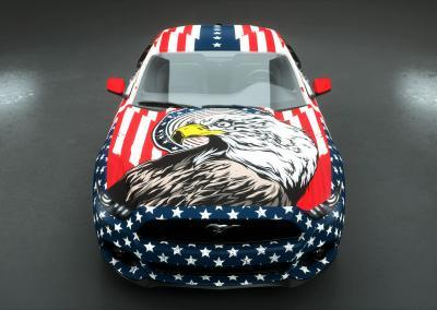 wrapping american adler design