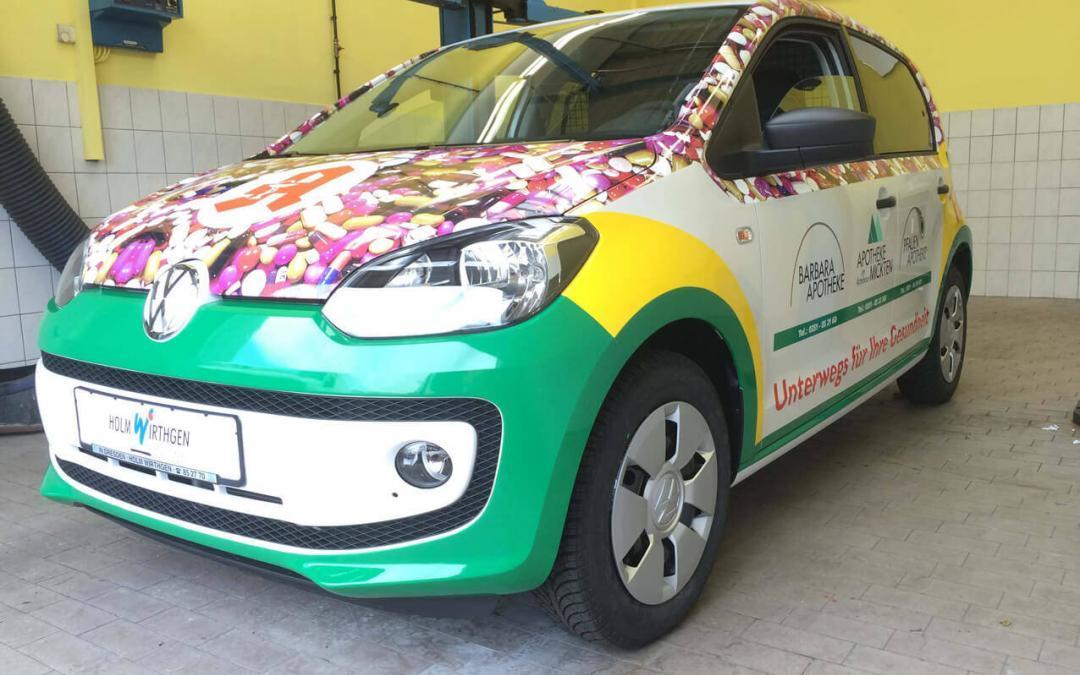 Folien Verklebe Technik Car Wrapping