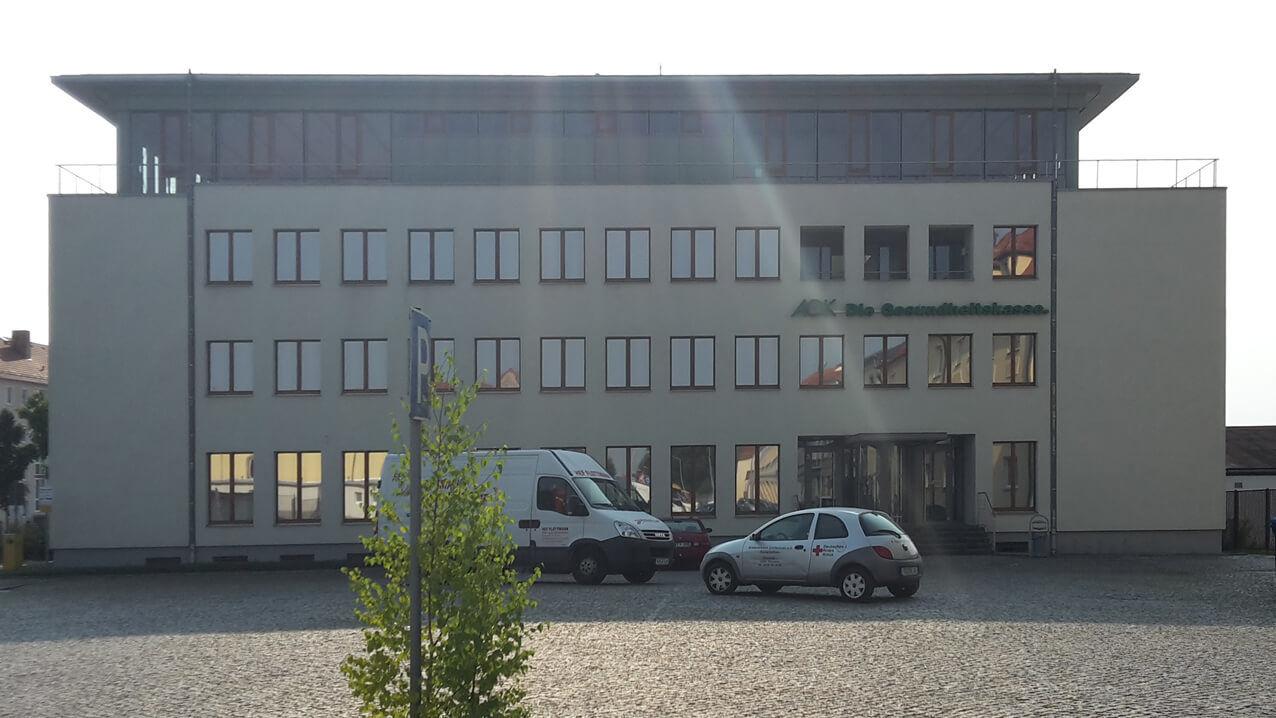 1002 Sonnenschutzfolierung, Schutzfolien AOK-Grossenhain