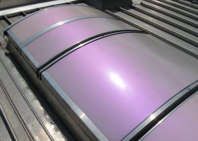 245-Dach Sonnenschutz lackiert