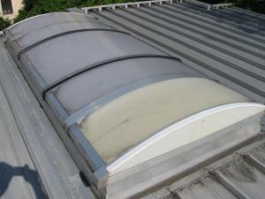 246-Dach Sonnenschutz lackiert lackieren Lack