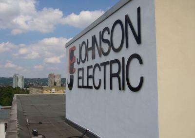 379-Johnson Electric-Einzelbuchstaben