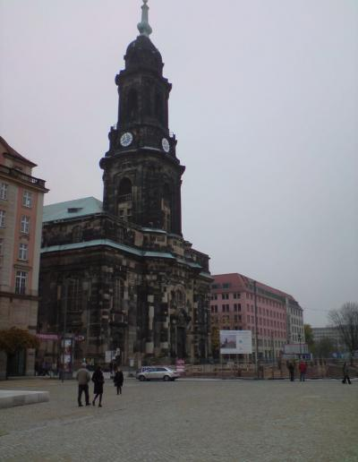 389-Hotel Altmarkt-Bauschild Dresden