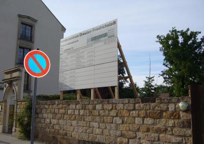 407-Kinderzentrum Friedrichstadt-Bauschild