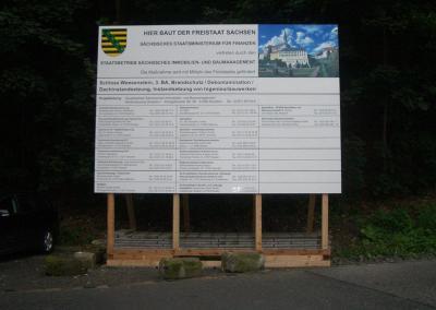 Bauschilder Zur Miete Kauf Dresden Bundesweit Montieren 11