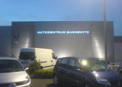 433-Autohandel-LED Leuchtbuchstaben