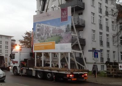 504_Bauschilder Umzug Schwerlasttransport Dresden Sachsen bundesweit