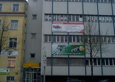 505_Werbeplane Billardtreffpunkt Pool und Reflex Fitnnessclub Dresden
